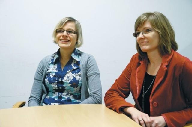 Od lewej: Agnieszka Stupkiewicz-Turek i Beata Zalewska