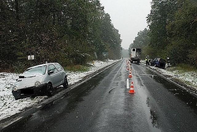 Miejsce wypadku w Makowisku.