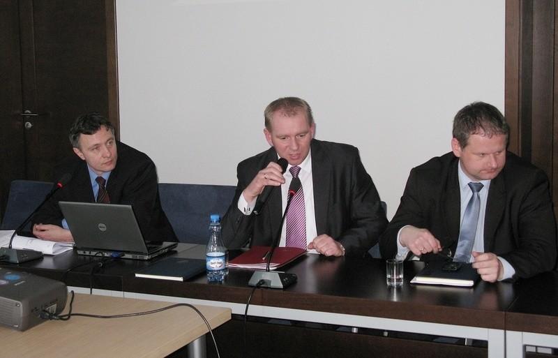 Prezentacja szpitalnego raportu w Starostwie Powiatowym w Bytowie