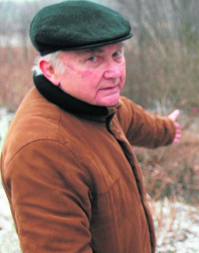 Działki Alfreda Widenki zarosły samosiejkami