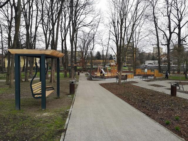 Nowy park kieszonkowy w ramach Ogrodów Krakowian, czyli Ogród nad Sudołem przy ul. Naczelnej na Prądniku Czerwonym