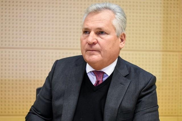 Aleksander Kwaśniewski w Poznaniu