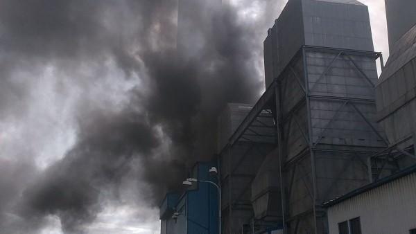 Wielki pożar w Czechach. Chmura dymu nad Jastrzębiem