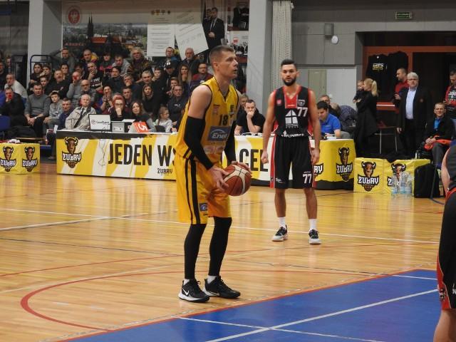 Mecz Żubry Białystok - Tur Basket Bielsk Podlaski