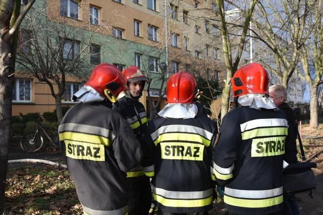straż pożarna, akcja, wroclaw, zdjęcie ilustracyjne.