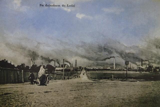 Druga połowa XIX wieku, nad miastem dominowały kominy...