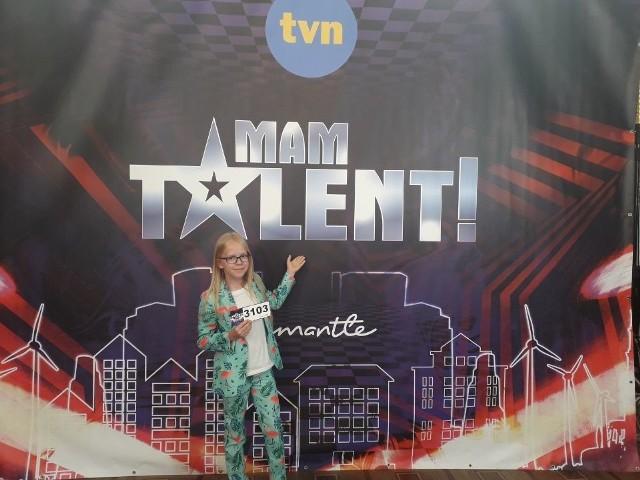 Mały wokalista Axel Drop w studiu TVN