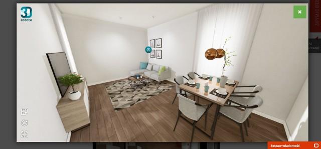 Wirtualne spacery po mieszkaniach znacznie ułatwiają klientom zapoznanie się z rozkładem lokali. Jest też okazja do zobaczenia przykładowych aranżacji pomieszczeń.