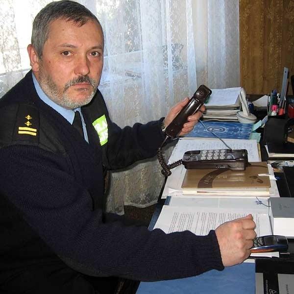 - Telefony alarmowe milczały. Odebrałem prośbę o interwencję na prywatną komórkę - mówi Jan Geneja, komendant Straży Miejskiej w Przemyślu