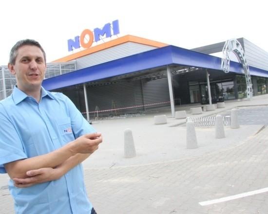 Marek Olszanowski: - Sklep już jest gotowy.