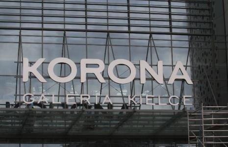 616aa0f1d4535 Sklep Korony Kielce powstaje w Galerii Korona