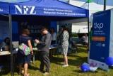 Narodowy Fundusz Zdrowia zachęcał do profilaktycznych badań na pikniku przy Kopalni Soli w Wieliczce