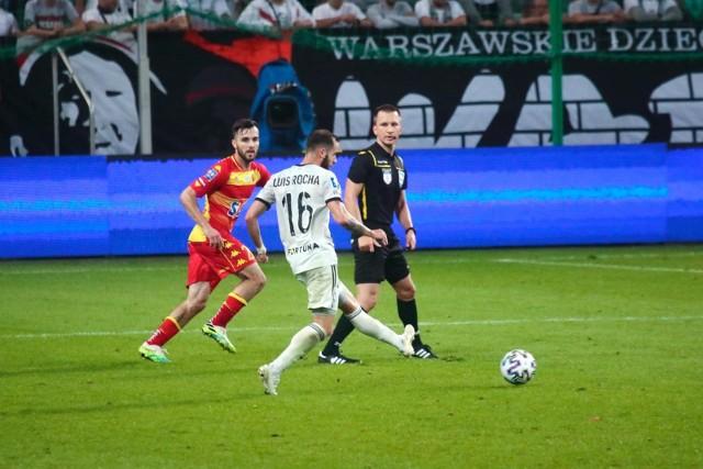 W minionym sezonie Jagiellonia nie przegrała z Legią w lidze. Nie dała jej za to rady w sparingu.