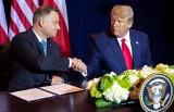 Andrzej Duda i Donald Trump podpisali deklarację o współpracy wojskowej. Prezydent USA obiecał, że wizy dla Polaków będą wkrótce zniesione