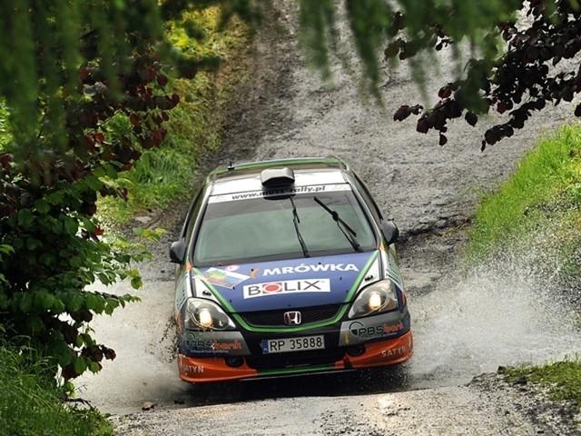 Nz Honda Civic Type-R załogi z Przemyśla.
