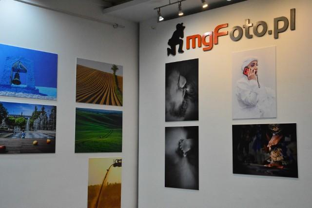 Wystawę można oglądać w Myślenickim Ośrodku Kultury i Sportu