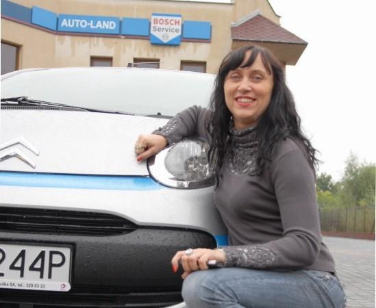 Anna Zaręba samochodem jeździ od 18 roku życia i o autach mogłaby mówić godzinami.