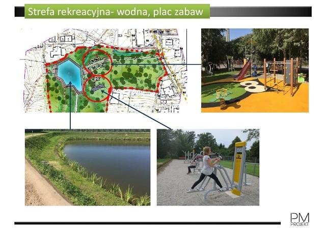 Wizualizacje. Tak ma wyglądać ogromny Park pod Baranem w Wieliczce