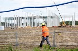 W Sulechowie powstaje ogromna hala. TJX Europe buduje centrum dystrybucyjne. Pracę znajdzie tam ponad tysiąc osób
