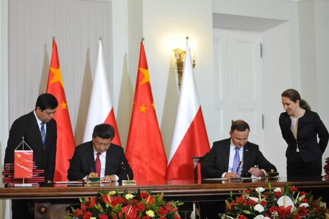 Xi Jinping z wizytą w Polsce