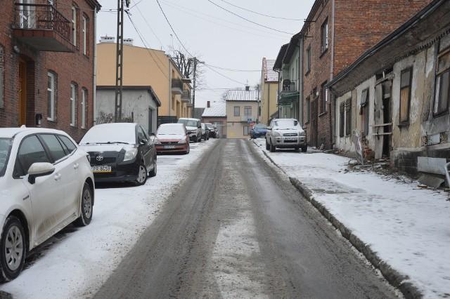 Ulica Władysława Jagiełły w Proszowicach