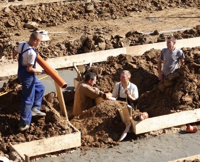 Budowa nowej części Centrum Kształcenia Praktycznego w Słupsku.