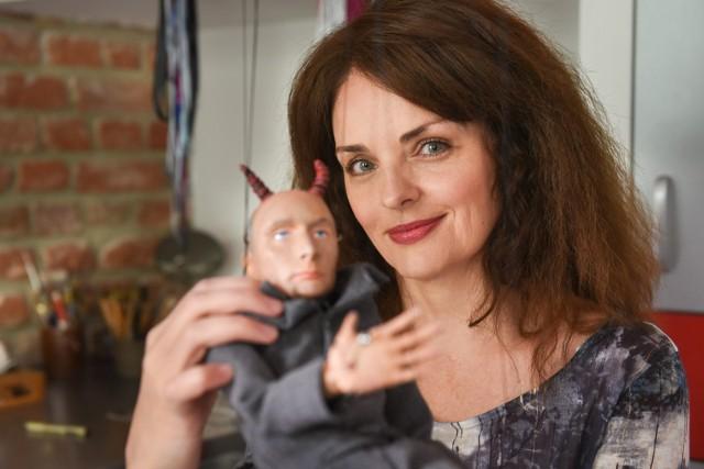 Beata Ihnatowicz w swojej pracowni