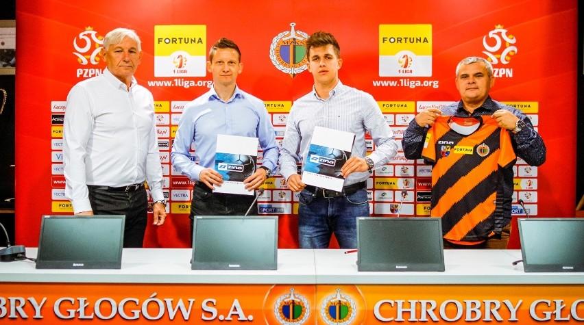 W środę 9 września klub Fortuna 1 Ligi Chrobry Głogów przedłużył obowiązującą od 2015 roku współpracę z marką ZINA.