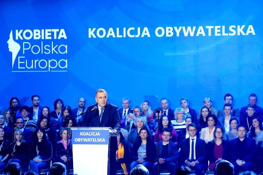 Koalicja Europejska: Władysław Kosiniak-Kamysz (PSL), Katarzyna Lubnauer (Nowoczesna), Grzegorz Schetyna (PO), Marek Kossakowski (Zieloni), Małgorzata Tracz (Zieloni), Włodzimierz Czarzasty (SLD). Teraz czas na wybór lidera