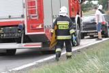 Wypadek koło Kłodzka. Dwie osoby ranne