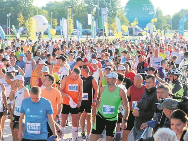 W ubiegłym roku uczestnicy maratonu spotkali się nie w czerwcu a we wrześniu