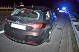 Na autostradzie A1 samochód uderzył w łosia. W ten pojazd wjechało kolejne auto. Oba pasy ruchu w kierunku Gdańska są zablokowane 1.09.2020