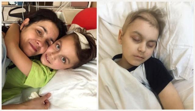 Mateusz z Przysieka ma 10 lat i guza mózgu. Udało się zebrać fundusze na leczenie chłopca w Stanach Zjednoczonych