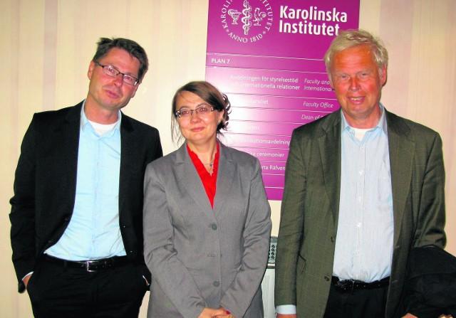 Prof. Anna Zalewska-Janowska w Szwecji spotkała się z władzami Karolinska Institutet