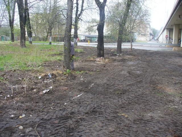 Spółka kolejowa wysprzątała dokładnie teren pod wiaduktem na ulicy Słowackiego