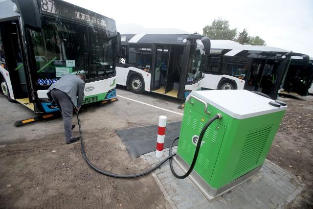 Nowe autobusy elektryczne w Szczecinie
