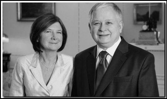 Maria Kaczyńska i Lech Kaczyński