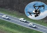 Kierowcy w oku kamery policyjnego drona w podbydgoskim Strzelewie. Posypały się mandaty [wideo]