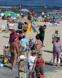 Plaża w Świnoujściu uchodzi za najbezpieczniejszą w województwie zachodniopomorskim.