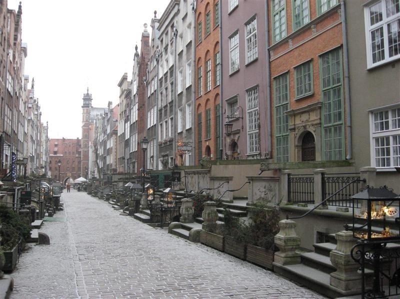 Gdańsk, ul. Mariacka Ulica Mariacka w Gdańsku