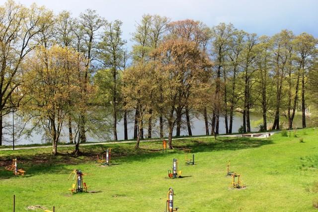 W Przytocznej mieszkańcy lubią jezioro i plenerową siłownię.
