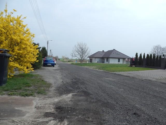 Ul. Słoneczna w Strzelcach Krajeńskich to już prawie koniec miasta.