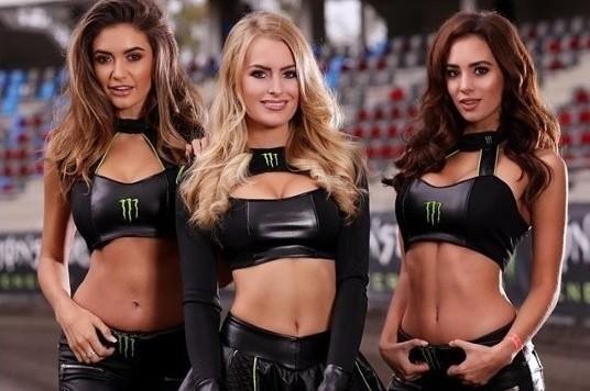 Monster Energy Girls to elita, jeśli chodzi o hostessy pojawiające się przy okazji zawodów motoryzacyjnych. Kierowcy muszą wykazać się niebywałą umiejętnością skupienia, by ich uwaga nie została odwrócona przez oszałamiające podprowadzające. Zobaczymy je m.in. podczas żużlowej Grand Prix Polski na PGE Narodowym.