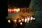 Kraków. Modlili się za Polaka, który zmarł w szpitalu w Wielkiej Brytanii [ZDJĘCIA]