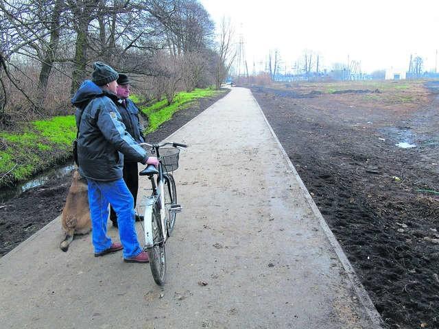 Nową jakość widać na nowo wybudowanym odcinku wzdłuż Szosy Lubickiej
