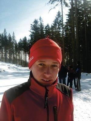 Seweryn Sutkowski (UKS Orliki Wiśniowa) zdobył brązowy medal w biegu na 3 k st. dowolnym. Fot Andrzej Domagalski