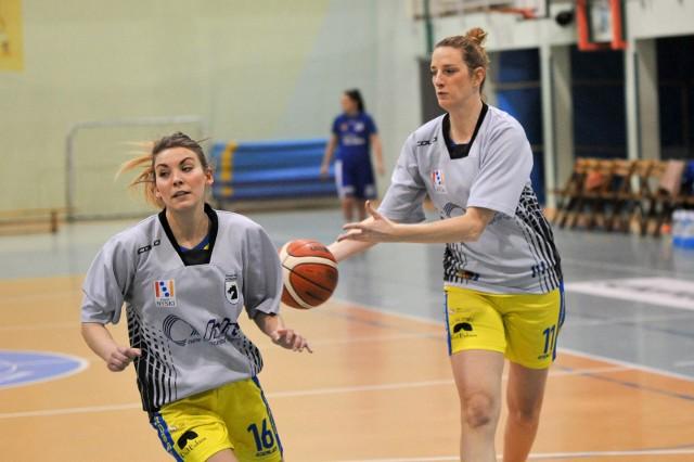 Marlena Deko (z lewej) i Joanna Czarnecka poprowadziły swój zespół do zwycięstwa!