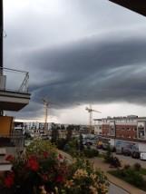 Burze i silny wiatr na Pomorzu 7.07.2021 r. Tak wyglądało środowe popołudnie na zdjęciach czytelników! [GALERIA]