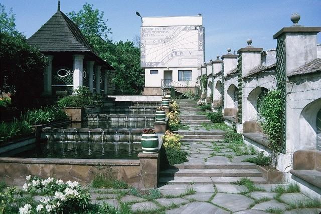 Tak ogród wyglądał na początku lat 70. ubiegłego stulecia.Niezwykłe miejsce przy Muzeum imienia Przypkowskich w Jędrzejowie odzyska blask