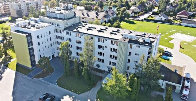 Nowe skrzydło szpitala w Siemiatyczach już służy pacjentom